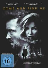 Come and Find Me ( Thriller ) mit Aaron Paul, Annabelle Wallis, Terry Chen NEU