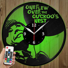 LED Vinyl Clock One Flew Over the Cuckoo's Nest LED Wall Clock OriginalGift 4763