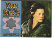LORD OF THE RINGS FOTR COSTUME MEMORABILIA CARD ARWEN'S RIDING OUTFIT LOTR