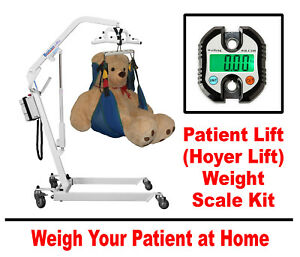 Patient Lift (Hoyer Lift) Weight Scale - Works With All Patient Lifts & Slings
