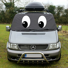 MERCEDES BENZ VITO W638 638 Front Window Screen Cover Black out Blind Frost Eyes