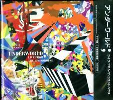 UNDERWORLD-LIVE FROM THE ROUNDHOUSE-JAPAN CD+DVD F30
