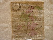 (Map) 1757. Alsatia (Elsass, Alsace) The French Region of Alsace.
