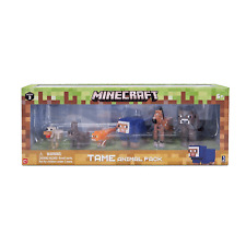 Minecraft Tame Animal Pack inc cat, foal, blue sheep, bunny, Cow, and chicken