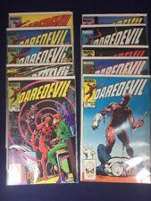 Daredevil 201,202,203,204,205,206,207-209 Marvel 10 Issue Lot/Straight Run @