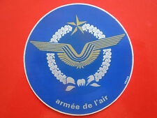 AUTOCOLLANT STICKER AUFKLEBER ARMEE DE L'AIR AILES DRAGO FRENCH AIR FORCE