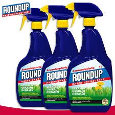 Roundup 3 x 1 l Rasen-Unkrautfrei Anwendungsfertig