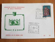 1975 - ITALIA - Cartolina postale - 30° della Resistenza