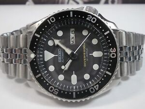 SEIKO SCUBA DIVERS SKX007J 'MADE IN JAPAN' MENS WATCH 7S26-0020 (SN 960524)