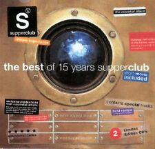 Supperclub The Best of 15 Years Supperclub 2CDs Sven van Hees Thievery Corporati