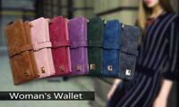 Fashion Women Wallets Leather Zipper Wallet Women's Long Design Purse Two Fold