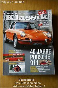 Motor Classic 4/03 Porsche 911 Jensen 541 BMW MG C