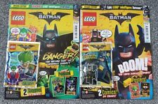 The LEGO Batman Movie Magazine / Comic - Issues 1 & 2 with Brand New Sealed Toys