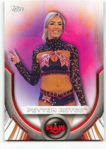 2020 Topps WWE Women's Division Roster Cards Insert RC-40 Peyton Royce