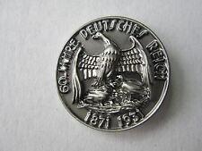 Pin 60 Jahre Deutsches Reich Reichsadler 1871 1931 WWII WK2 WK1 WH Wehrmacht