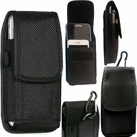 2 in 1 Universal Nylon Belt Loop Case Cover Holster Pouch for Large Mobile Phone