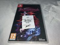 BLOODSTAINED - Castlevania Dracula X NEUF VF Pal FR Français NEW Switch Nintendo