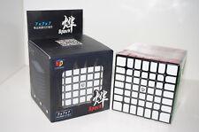 QiYi X-Man Spark 7x7x7 Black Smooth Speed Cube Magic Cube Ship from USA