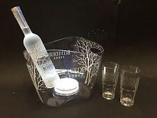 Belvedere Vodka Set 0,7l Flasche + 2 Gläser + LED Kühler 40%Vol.