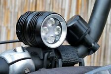 Revtronic BT40S 4xCree XP-G2 LED 1600 Lumens Rechargeable Mountain Bike Light