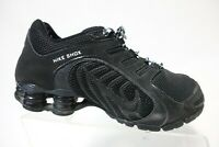 NIKE Shox NZ Mesh Black Sz 9 Women Running Shoes