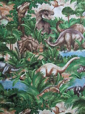 Timeless Treasures Fabric DINOSAUR Fabric- yards