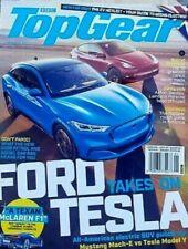 BBC Top Gang Magazin UK Januar 2021, Ford Takes Auf Tesla