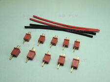 Micro T-Plug Plug Connector Male Female battery plug x 10