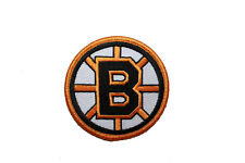 "BOSTON BRUINS NHL LOGO IRON-ON PATCH CREST BADGE 3"" INCHES IN DIAMETER"