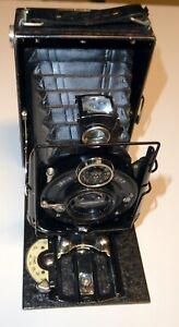 Voigtlander VAG folding plate camera. IBSOR shutter.