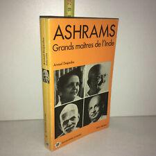 Arnaud Desjardins ASHRAMS, GRANDS MAITRES DE L'INDE Albin Michel 1982 - YY-13661