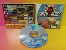 Speed Devils Racing Sega Dreamcast DC Dream Cast - Mint Disc 1 Owner, Bought New