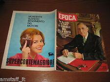 EPOCA 1962/600=ALGERIA=MEZZANO=FRANCOIS MAURIAC=GRACE KELLY=MORTE PIAZZA NAVONA