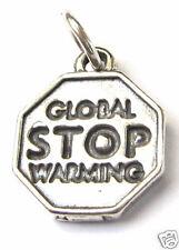 """""""Stop Global Calentamiento"""" Trailer sólido 925/000 Plata"""