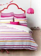 Harlem Pink 225TC Percale KING Quilt Doona Cover Set