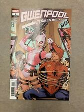 Gwenpool Strikes Back #1 Main Cover A 1st Print Marvel (2019)