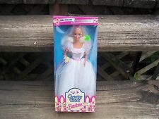 Country Bride Barbie Wal-Mart Special Edition Blonde Hair Blue Eye 13614    1994