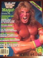 WWF WRESTLING MAGAZINE NOVEMBER 1990 VINTAGE ULTIMATE WARRIOR CHAMPIONSHIP