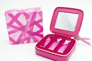 Estēe Lauder Pink Perfection Lipstick Set Limited Collection 🦋 3pc Full Size