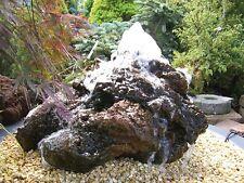 Quellstein Lava 30-40 cm Springbrunnen Gartenbrunnen Wasserspiel Brunnen