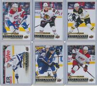 2018-19 Upper Deck Series 1 Series 2 CANVAS Young Guns Rookies YOU CHOOSE