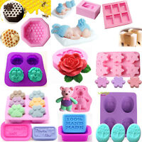 Diy Silicone Ice Cube Candy Chocolate Mould Cake Cookie Candle Soap Mold Tools