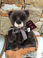Little Tyke 5 Charlie Bears 2020 Bearhouse Collection Soft Toy Teddy Bear
