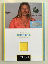 Maria Sharapova 2005 Ace Authentic Special Edition J-2 Dress Swatch