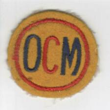 Non Combatant US Office Of Civilian Mobilization Patch Inv# V915