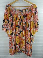 Batwing, Dolman Sleeve City Chic Floral Tops & Blouses for Women