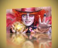 Mad Hatter Alice In Wonderland CANVAS PRINT Home Wall Decor Giclee Art CA377