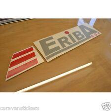 ERIBA Car - (CUT VINYL) - Caravan Name Flash Sticker Decal Graphic - SINGLE
