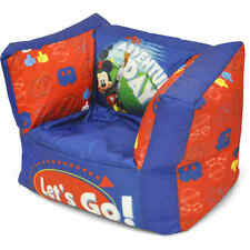 NEW! Mickey Mouse Square Bean Bag Chair (FREE 2 DAY SHIPPING)