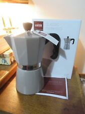 La Cafetiere Classic Espresso Coffee Maker Percolator, 6-Cup -Warm Grey, NEW.